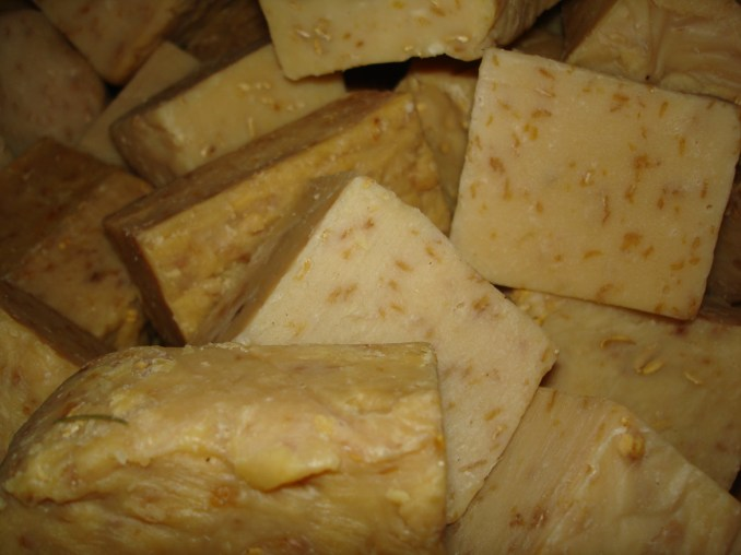 BV Colonial Crafts » Homemade Lye Soap