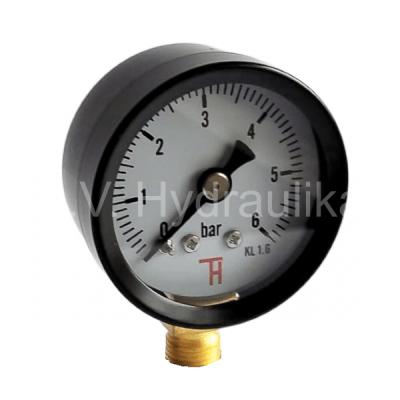 """Manometr 40 mm, 0-12 Bar, 1/8"""" spodní suchý"""