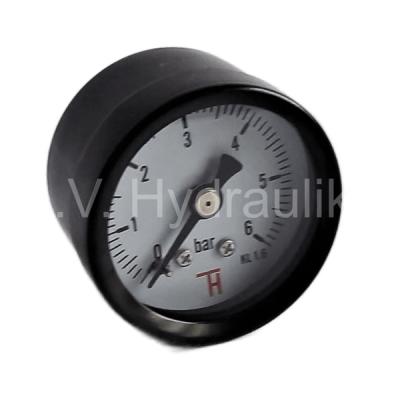 "Manometr 40 mm, 0-6 Bar, G1/8"" zadní suchý"
