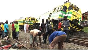 Just Happened:Many feared dead as train derails in Lagos