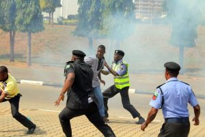 Breaking:Shiite protests: Tension in Abuja over text security alert