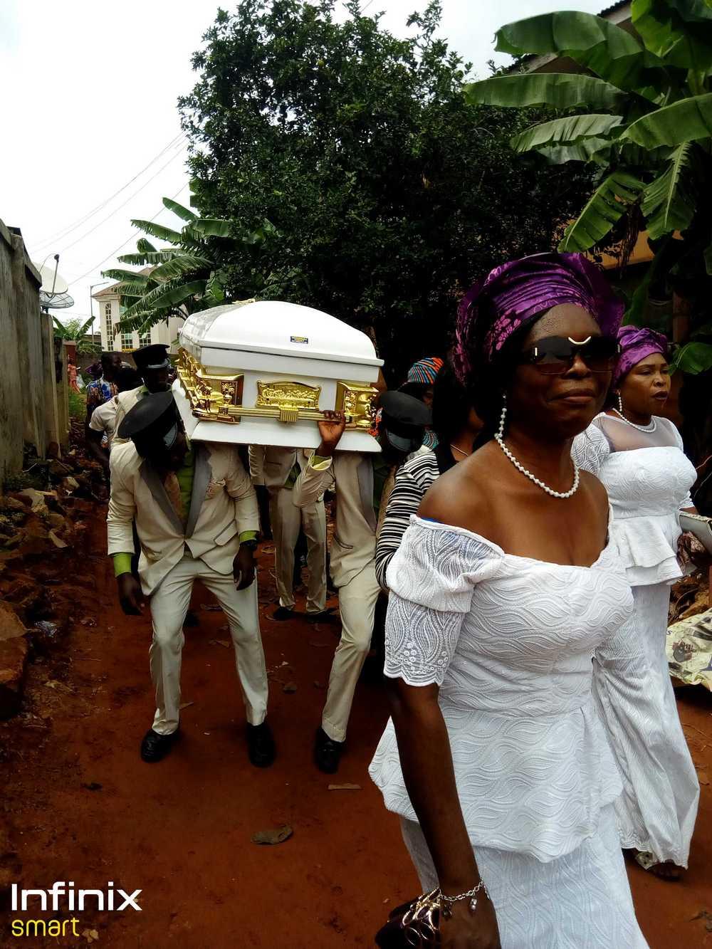 Tony Okonkwo Buries Father In Grand Style