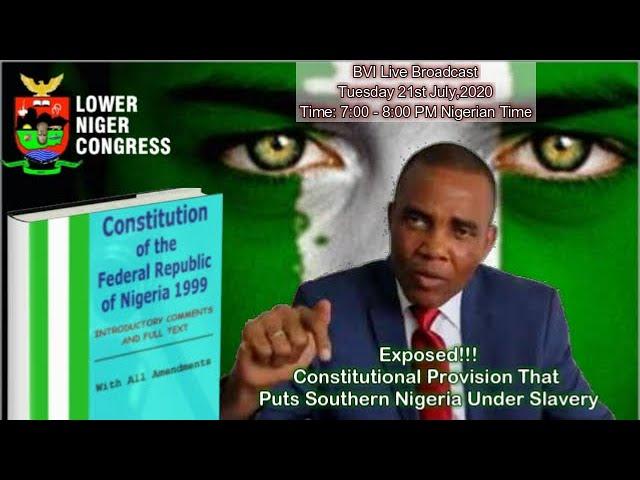 We Will Bring Nigeria Constitution  Down- Barr Tony Nnadi