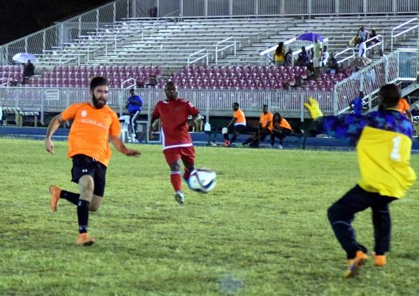 Mohamed Kafour scores for Sugar Boys