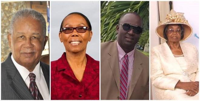 New Life Baptiste Church 2017 honourees.