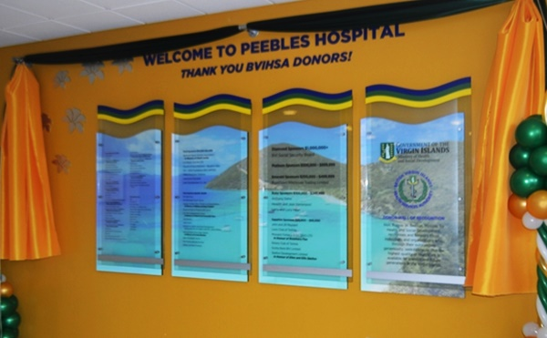 The Donor Wall