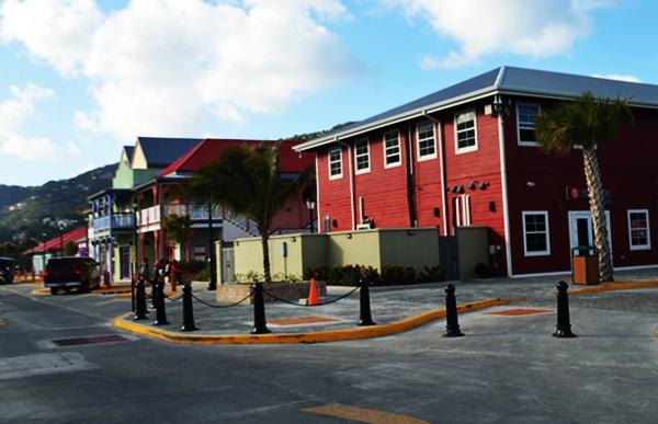 A section of Tortola Pier Park