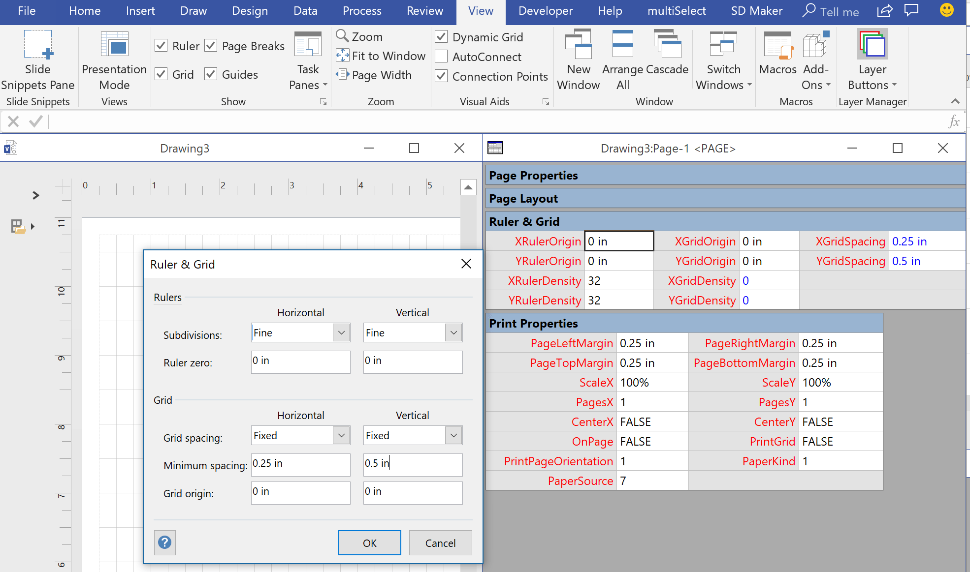 Really Snapping To Grids In Visio