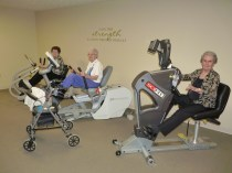 Courtyard Terrace Fitness Room | Nebraska Assisted Living