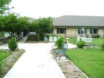 Blue Valley Care Home Backyard