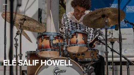Eli Howell, jazz drummer