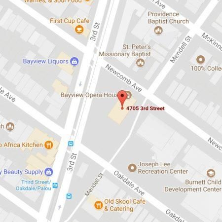 4705 3rd St, San Francisco, map