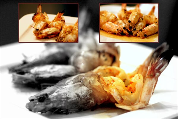 Grilled King Prawns...