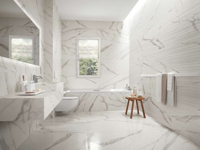 Roma Italian Marble Look Floor  Wall Tile  FAP Ceramiche  BV Tile and Stone