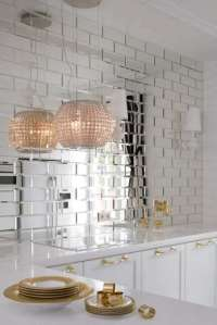 Reflections Glass Mirror Beveled Wall Tile - BV Tile and Stone