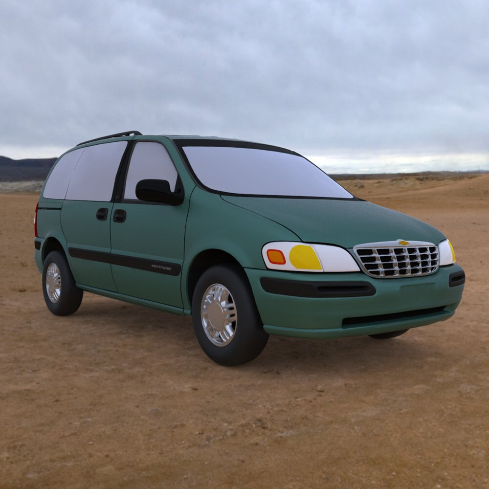 medium resolution of chevy venture 1998 3ds and obj extended license