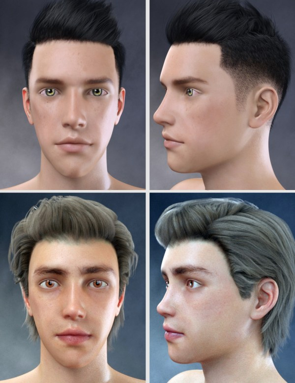 Face Shape Morphs Genesis 8 Male 3d Figure Assets - Year of