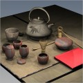 Utensils for the japanese tea ceremony by forester