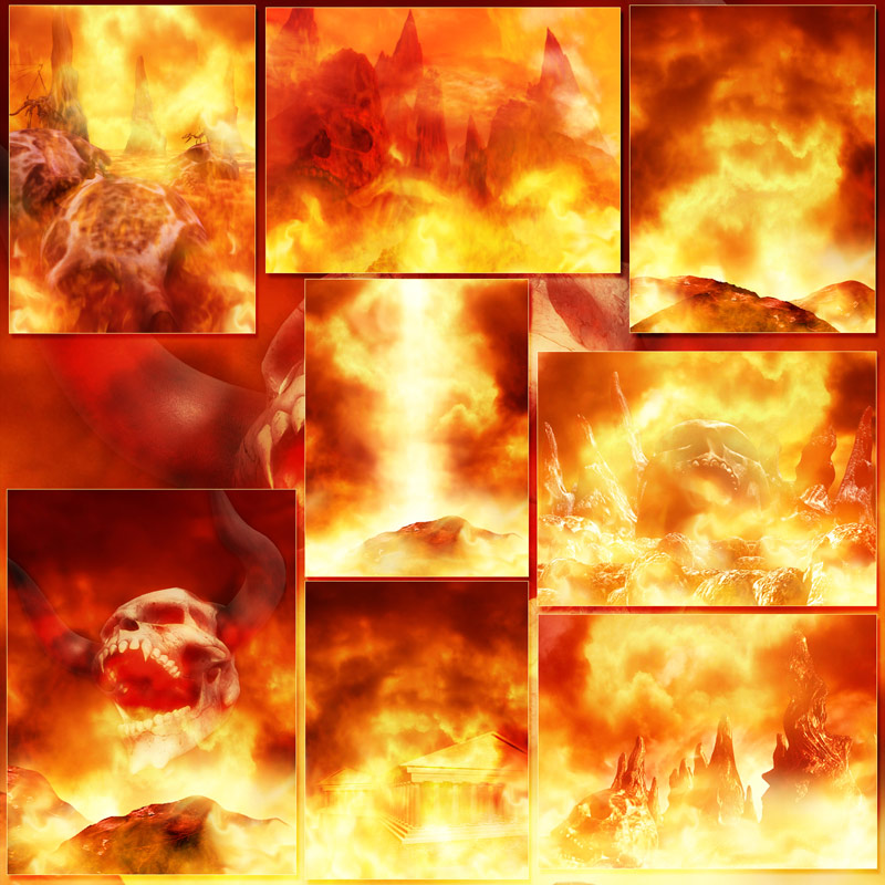 Welcome To Hell Background Pictures And Matching Lights