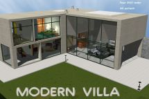 Modern Luxury Villas Model