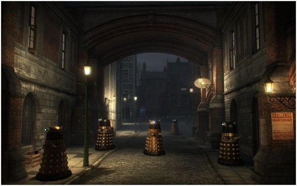 Daleks Of London 2 Starbase1 Lightwave Science Fiction
