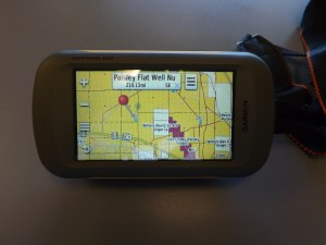 A well used Garmin Montana with lots of secret spots!