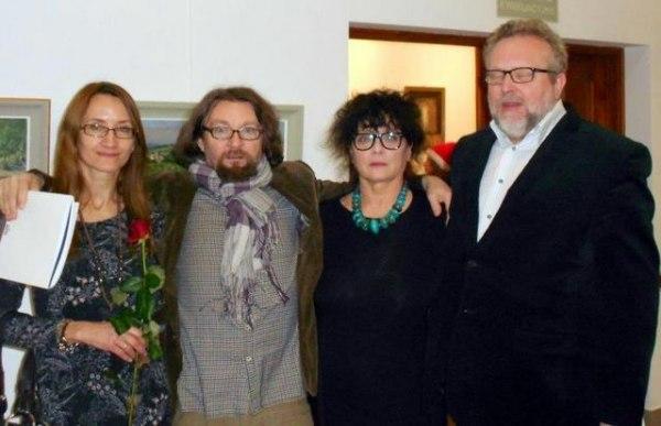 plener 2013 wystawa Sobierajów