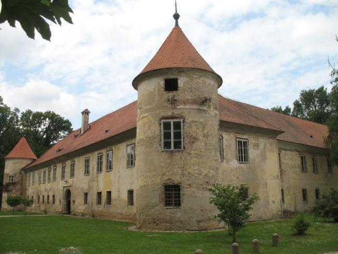 zamek w Beltinci miwejsce wystawy olkuskiej