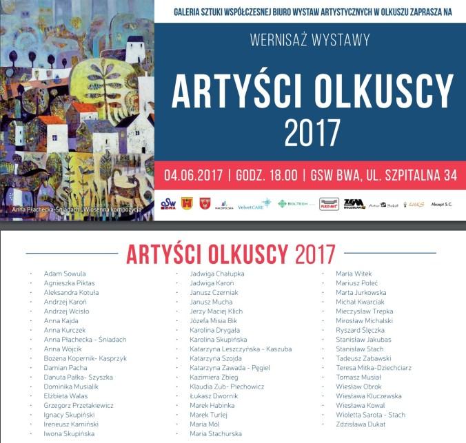 artyści zaproszenie