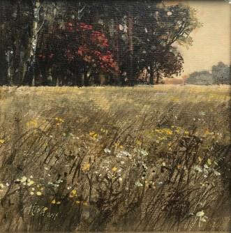 Anita Baenisch-Juda , Jesień, 20 x20,akryl, 720,00zł