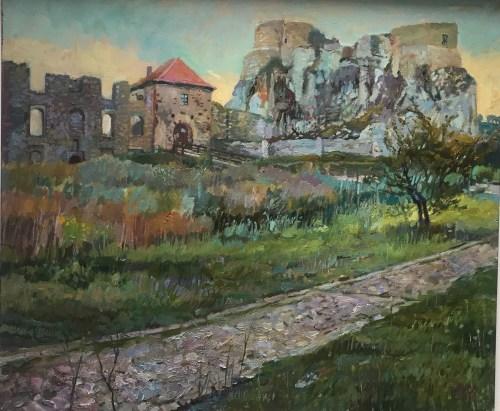 Damian Pacha, Rabsztyn, 60x70, olej, 2040,00zł
