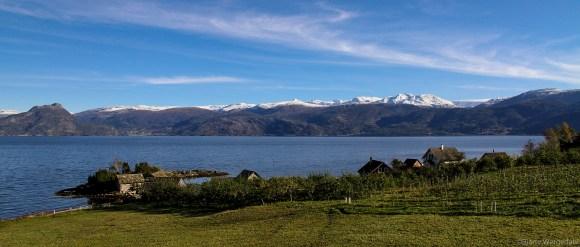 Alongside the Hardangerfjord
