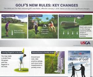 Key changes in rules for 2019