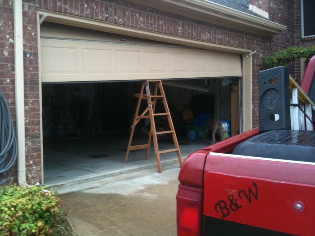 Portfolio  B  W Garage Doors  Fort Worth TX