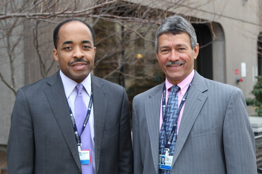 Michael Fraai (left) and Luis Soto