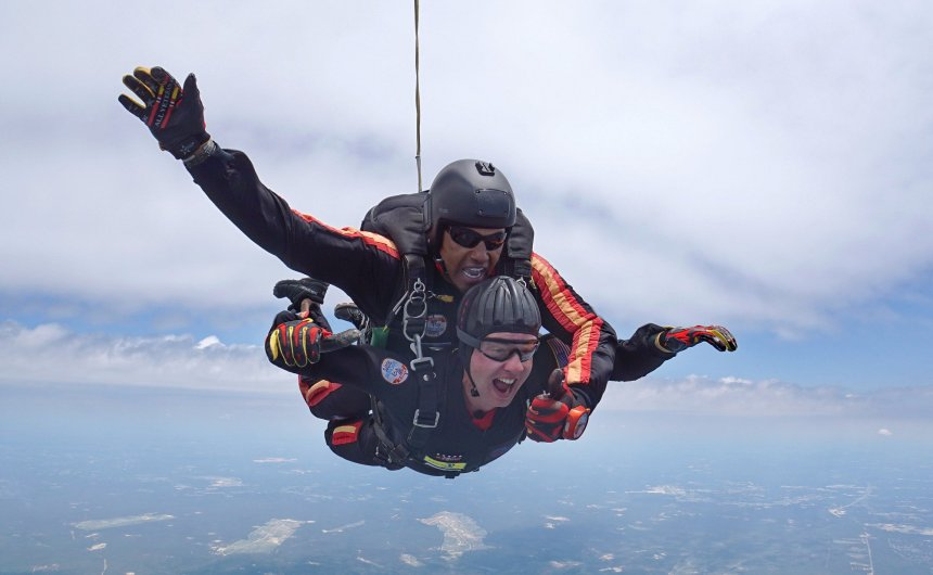 Skydiving Experience for Patient