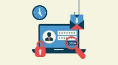 illustration of possible places where phishing attacks can happen
