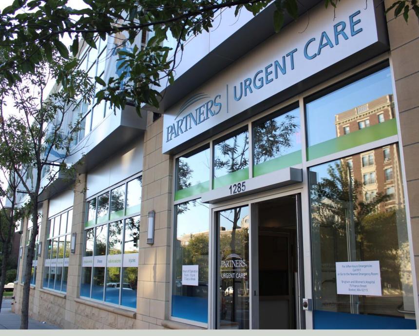 Partners Urgent Care Center in Coolidge Corner, Brookline