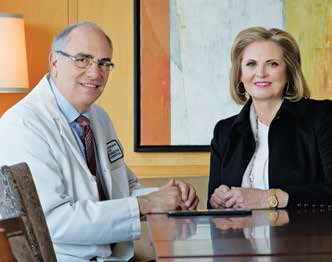 Ann Romney with Howard L. Weiner, MD, director and co-founder of the Partners MS Center and co-director of the hospital's Ann Romney Center for Neurologic Diseases. Photo credit: Len Rubenstein