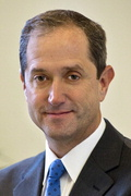 Richard Baum, MD, chief of the Division of Angiography and Interventional Radiology