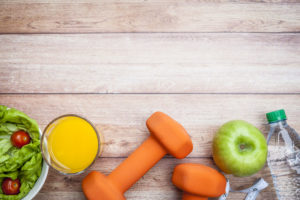 Fitness Healthy Diet Background