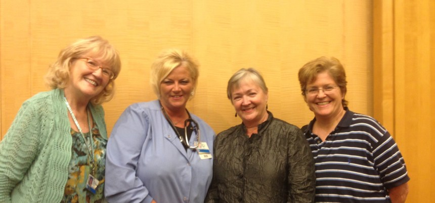 From left: Mary Allendorf-Burns, Mary Absi, Mary Jo Kreitzer and Margaret Costello