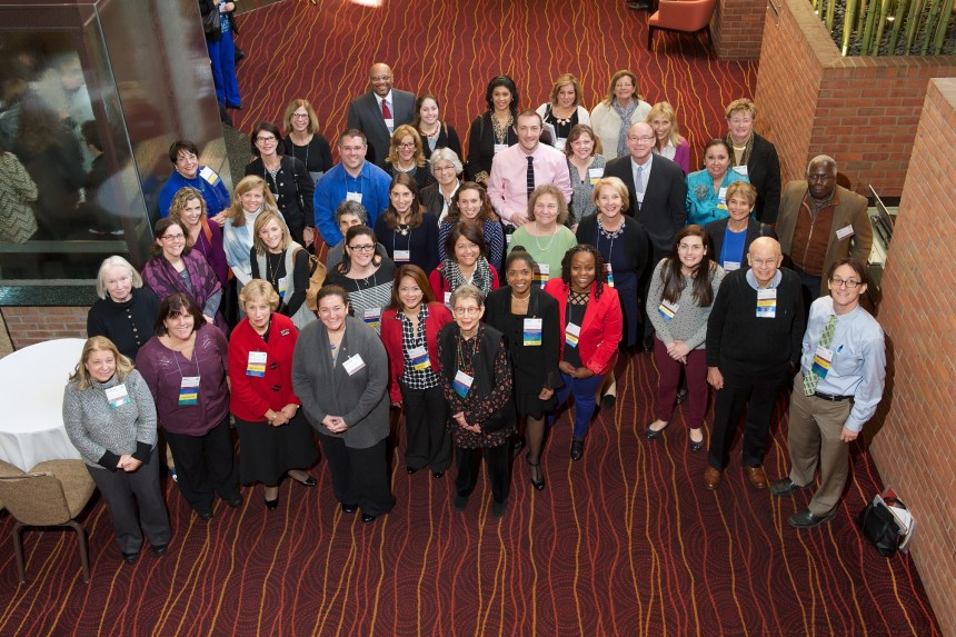 BWH clinicians, staff and patient advisors at this year's Institute for Patient- and Family-Centered Care Conference