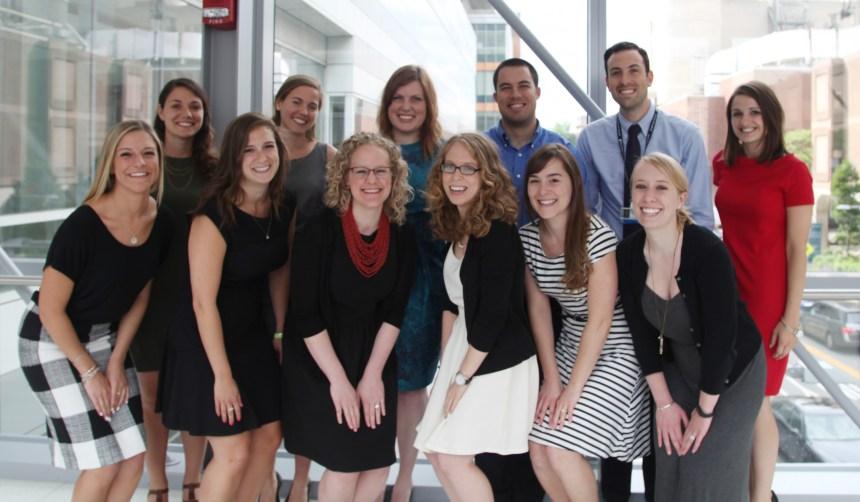 The 2015 graduates of the BWH dietetic internship