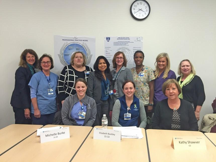 Nursing research committee.JPG