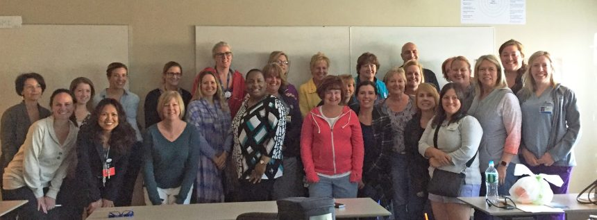 A May 2016 HeartMath Resiliency training class