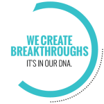 We Create Breakthroughs logo