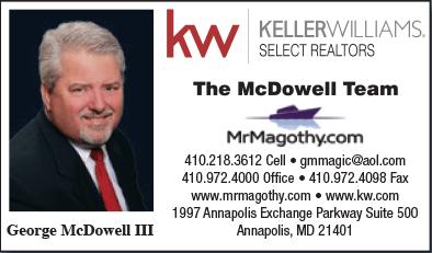 George McDowell III, Mr. Magothy
