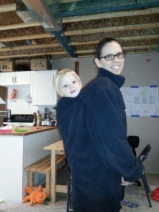 Kindercoat fleece only (before heading outside)