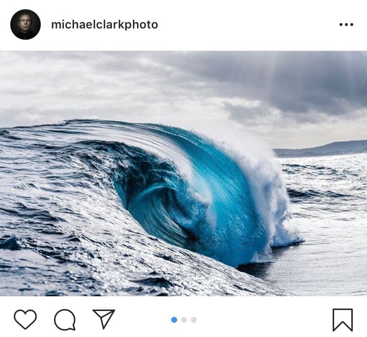 instagram crop example michael clark photo